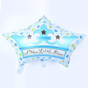 Folieballon Geboorte A New Little Prince 65 cm