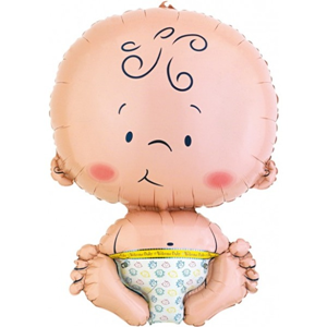 Folieballon Baby SuperShape 61 cm