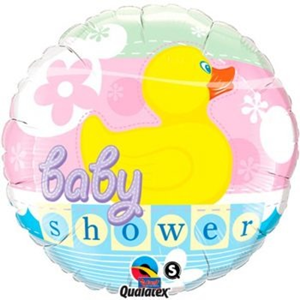 Folieballon Baby Shower Duck 45 cm