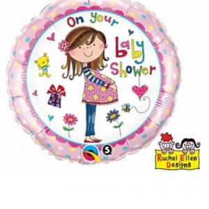 Folieballon On Your Baby Shower 45 cm