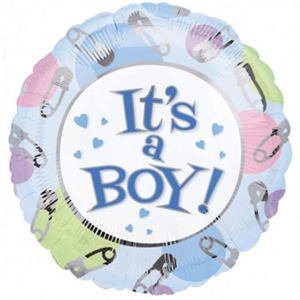 Folieballon geboorte Jongen It's a Boy! 76 cm XL
