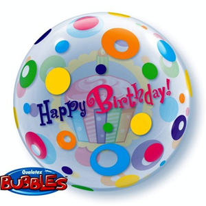 Folieballon Happy Birthday Cupcake 56 cm