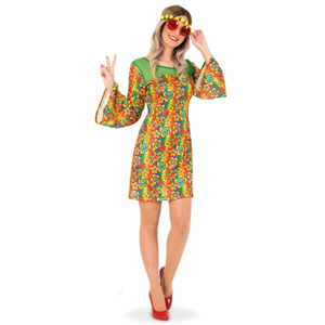 Hippie-jurk Dames