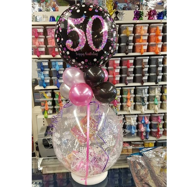 Cadeau ballon incl. folie ballon