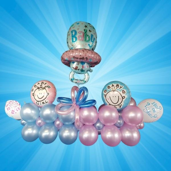 Ballonnen Bouquet - Gender Reveal